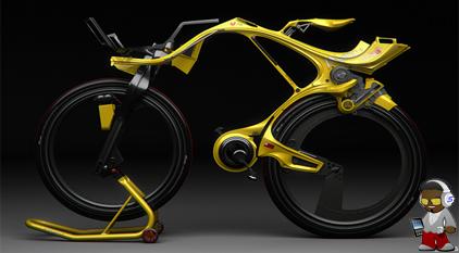 The Lamborghini Of Bicycles Ingsoc Hybrid Bicycle
