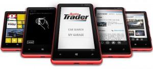 Auto Trader Windows Phone app