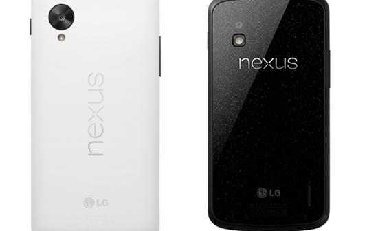 Google Nexus5 vs Nexus 4