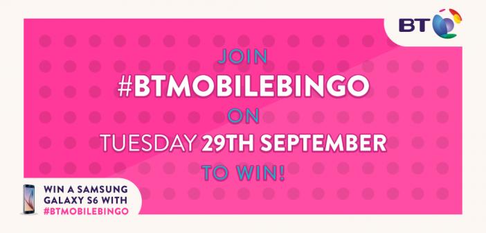 Win a Samsung Galaxy S6 with #BTMobileBingo
