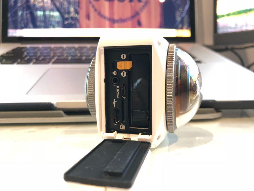 KODAK PIXPRO 4KVR360 4K Ultra HD 360 Action Camcorder