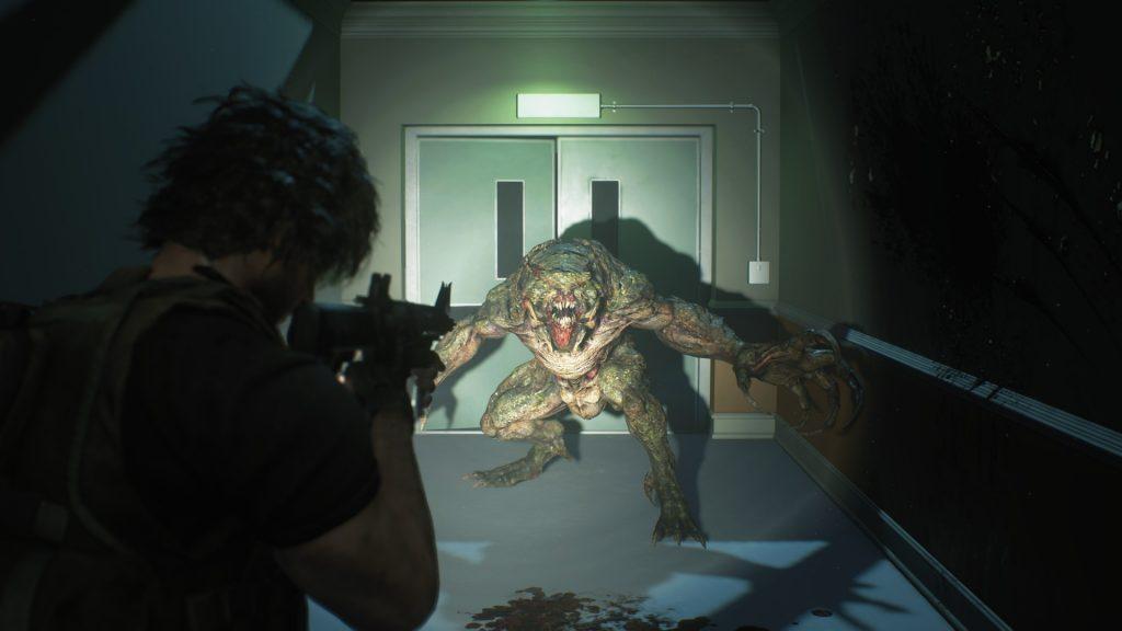 Resident Evil 3 - Carlos vs Hunter Beta