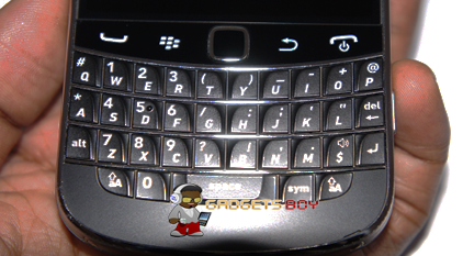 Blackberry Bold 9900 Keyboard