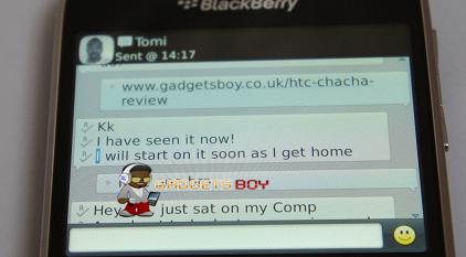 Blackberry Bold 9900 Screen