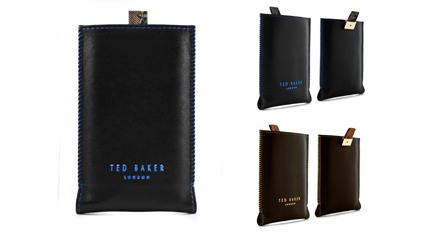 2e85c7400 Ted Baker iPhone 4 Leather pouch