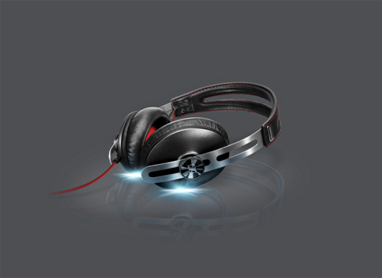 MOMENTUM Black headphones