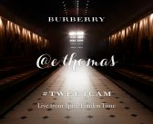 Burberry partners with Twitter to bring personalised live pictures from the A/W15 Womenswear show