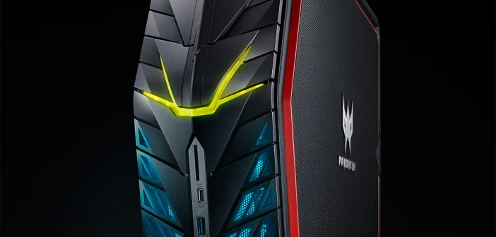 Acer Predator G1 Desktop is small but mighty for gaming on the go