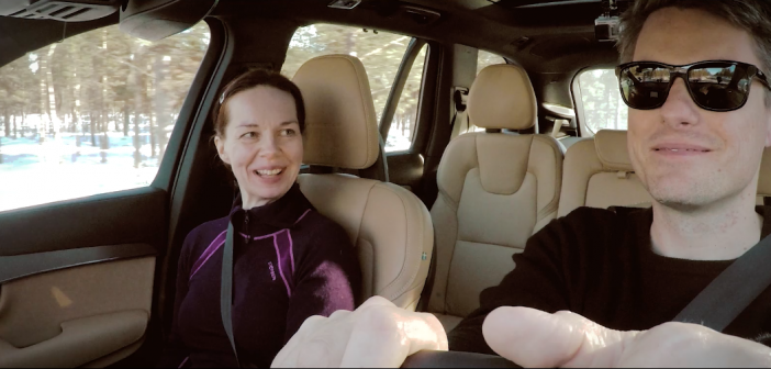 Volvo's 3D Sound only VR experiment will make you value your peace and quiet when driving #VolvoAffects