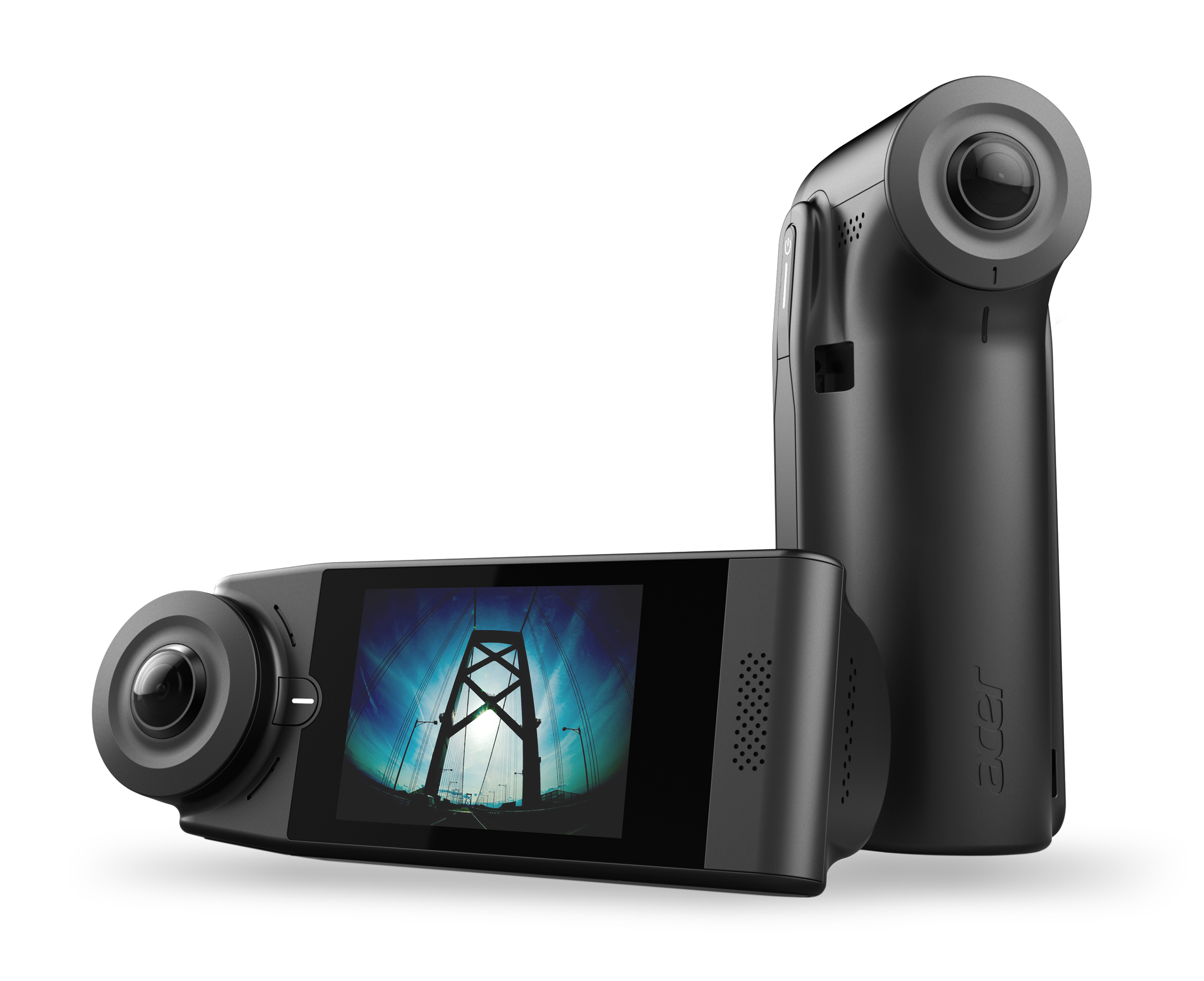acer introduces two connected 360 degree cameras. Black Bedroom Furniture Sets. Home Design Ideas