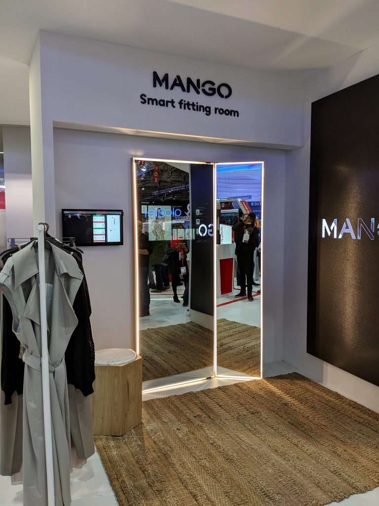 Mango Smart Fitting Room