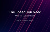 OnePlus 6 global launch