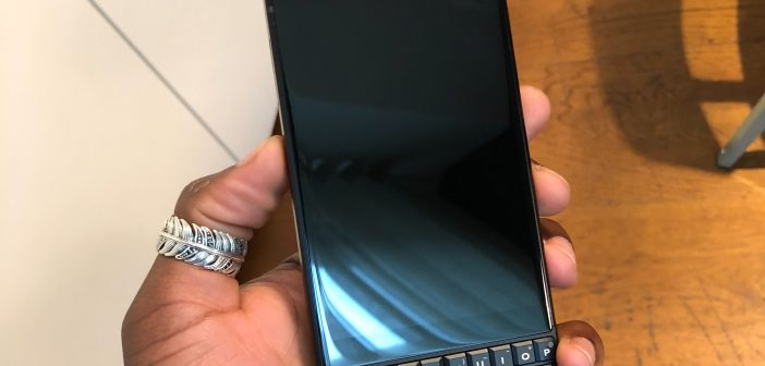 BlackBerry KEY2 Unboxing Video