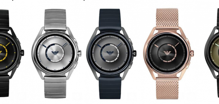 Emporio Armani Connected Expands Line with Sleek New Touchscreen Smartwatches