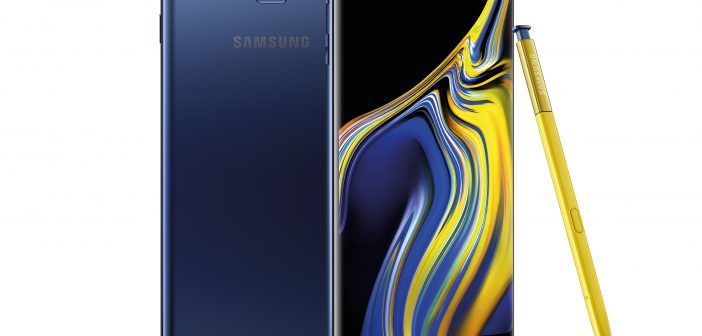 The New, Super Powerful Galaxy Note9: