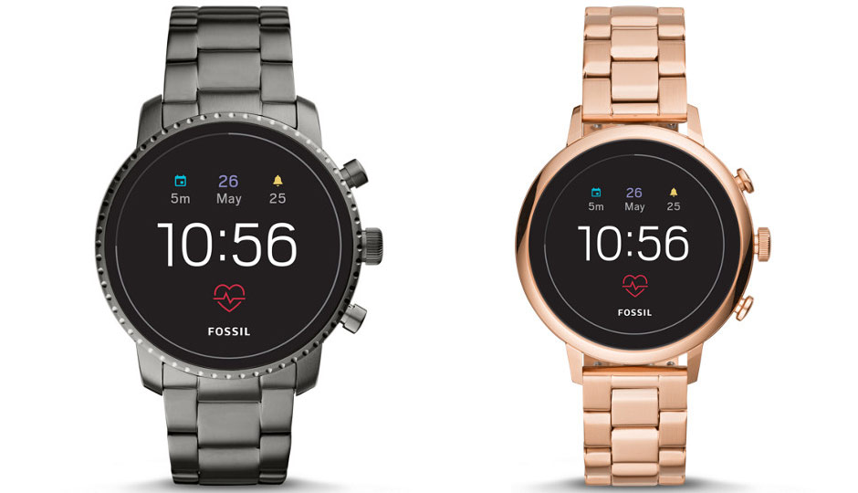Fossil Q Explorist Gen 4 and Fossil Sport Smartwatch