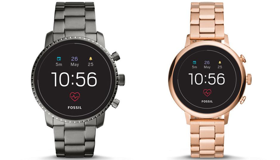Fossil Q Explorist Gen 4 and Fossil Sport Smartwatch