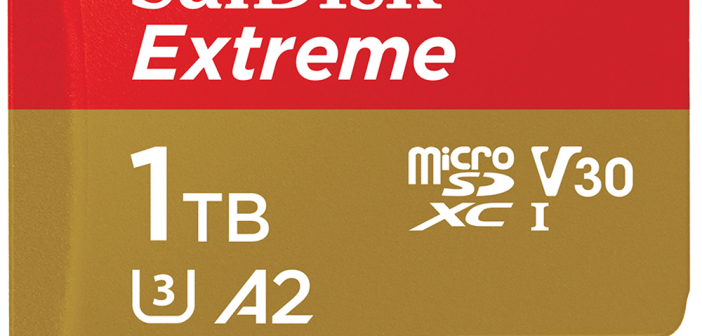Western Digital Unveils World's Fastest 1TB UHS-I microSD Card