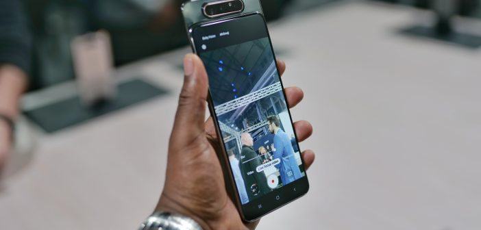 Samsung Galaxy A80 – First Impressions – More than just a gimmick?