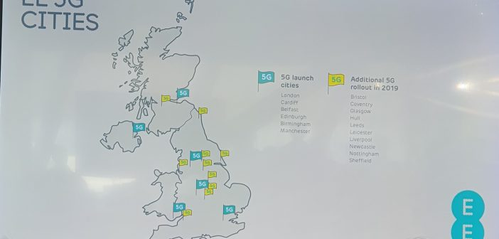 EE launching UK's first 5G service in six cities