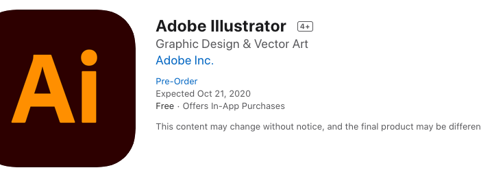Adobe Illustrator iPad