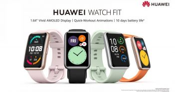 Huawei To Launch New Watch Fit Sports Watch