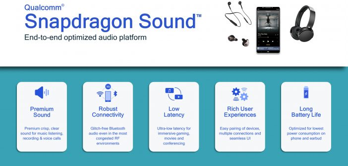 Qualcomm Redefining Wireless Audio with Launch of Qualcomm Snapdragon Sound