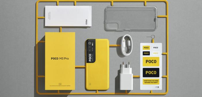 POCO Launches POCO M3 Pro 5G